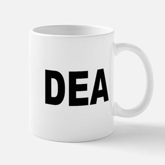 DEA Drug Enforcement Administration Large Mugs
