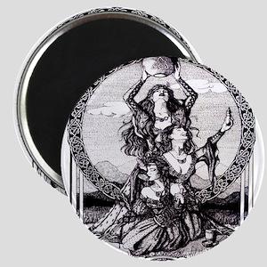 Triple Goddess Magnet