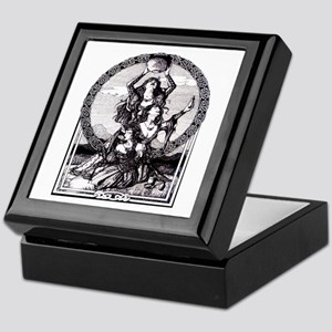 Triple Goddess Keepsake Box