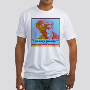 James Joyce Fitted T-Shirt