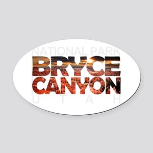 Bryce Canyon - Utah Oval Car Magnet