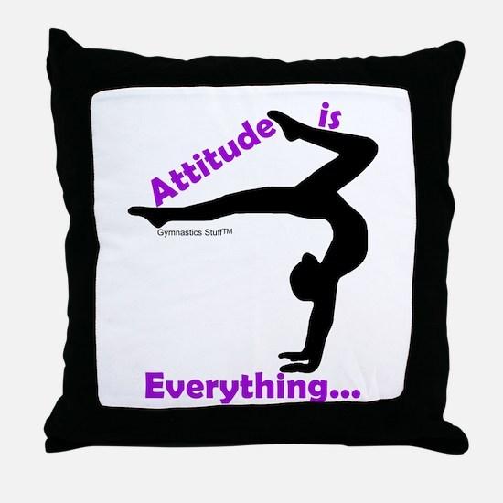 Gymnastics Pillow - Attitude
