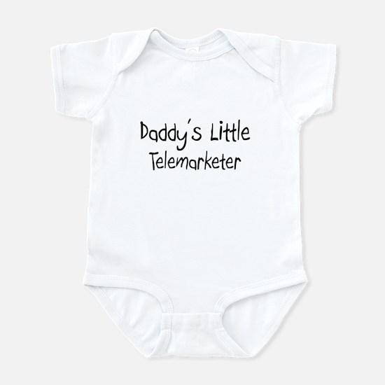 Daddy's Little Telemarketer Infant Bodysuit