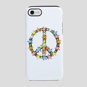 Peace Flowers iPhone 8/7 Tough Case