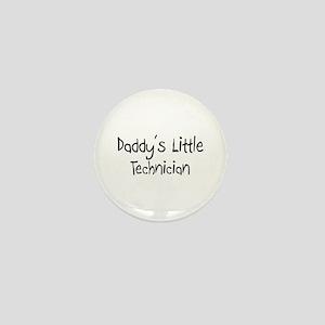 Daddy's Little Technician Mini Button