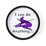 Gymnastics Clock - Anything