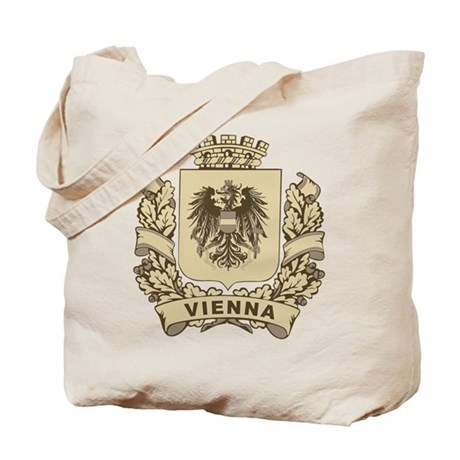 Stylized Vienna Crest Tote Bag