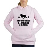 Cafe express dont care who movie as long as dog do Hooded Sweatshirt