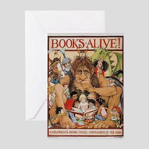 1980 Children's Book Week Greeting Cards (10 P