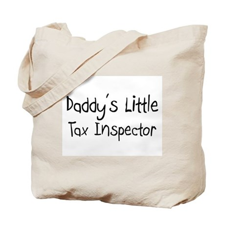 Daddy's Little Tax Inspector Tote Bag
