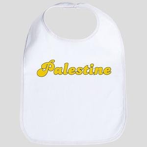 Retro Palestine (Gold) Bib