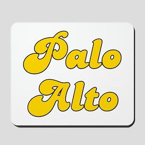 Retro Palo Alto (Gold) Mousepad