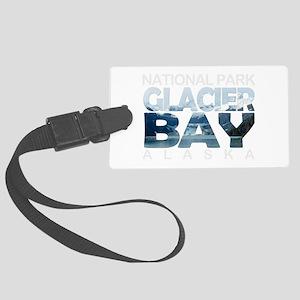 Glacier Bay - Alaska Large Luggage Tag