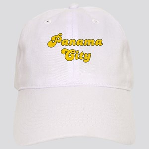Retro Panama City (Gold) Cap
