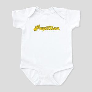 Retro Papillion (Gold) Infant Bodysuit