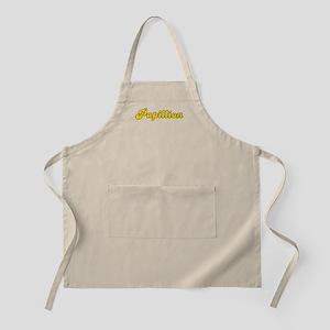 Retro Papillion (Gold) BBQ Apron