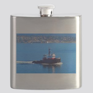 Vancouver Harbor Ride Flask
