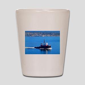 Vancouver Harbor Ride Shot Glass