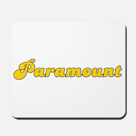 Retro Paramount (Gold) Mousepad