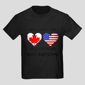 Half Canadian Half American T-Shirt