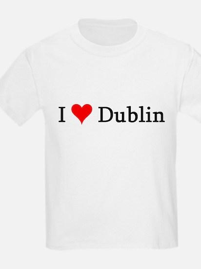 I Love Dublin Kids T-Shirt