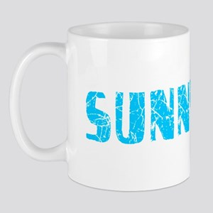 Sunnyvale Faded (Blue) Mug