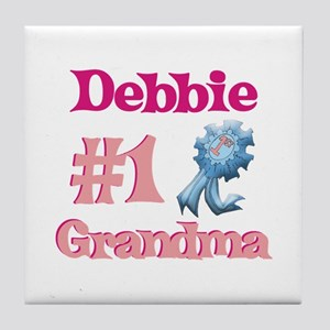 Debbie - #1 Grandma Tile Coaster