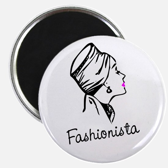 Fashionista Magnet
