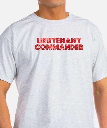 Retro Lieutenant .. (Red) T-Shirt
