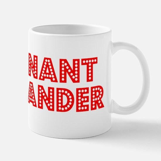 Retro Lieutenant .. (Red) Mug