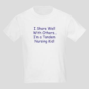 """Shares Well"" Tandem Nursing Bigger Kids Tee"