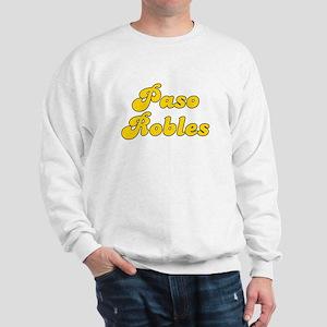 Retro Paso Robles (Gold) Sweatshirt