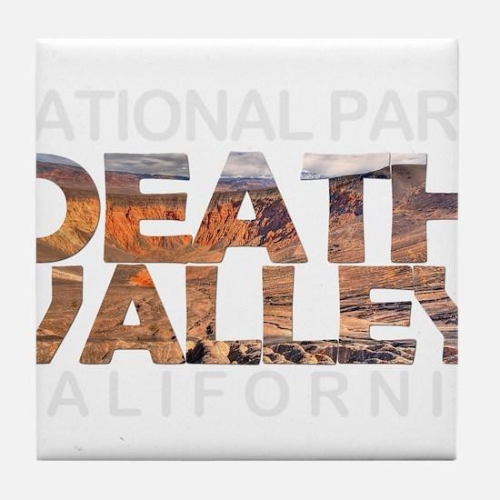 Death Valley - California, Nevada Tile Coaster