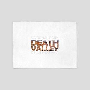 Death Valley - California, Nevada 5'x7'Area Rug