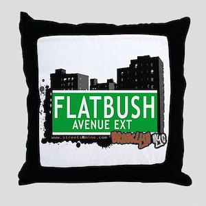 FLATBUSH AVENUE EXT, BROOKLYN, NYC Throw Pillow