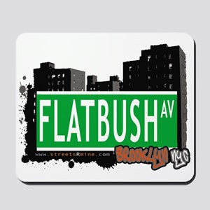 FLATBUSH AV, BROOKLYN, NYC Mousepad