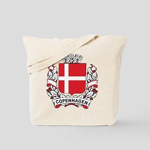 Copenhagen Crest Tote Bag