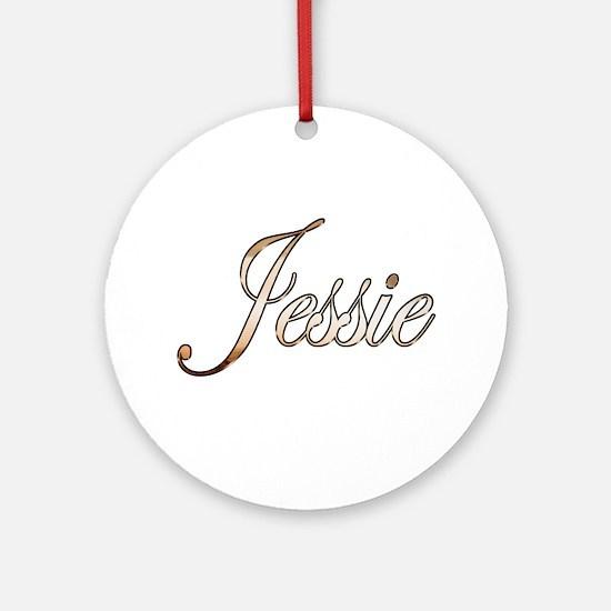 Cute Jessie Round Ornament