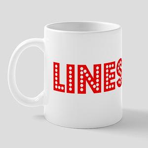 Retro Linesman (Red) Mug