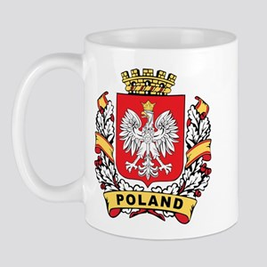 Stylish Poland Crest Mug