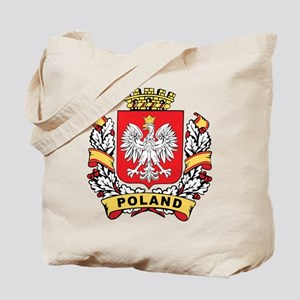 Stylish Poland Crest Tote Bag
