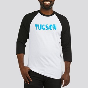 Tucson Faded (Blue) Baseball Jersey