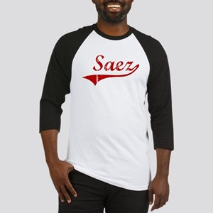 Saez (red vintage) Baseball Jersey
