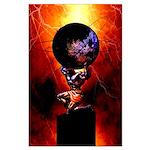 ATLAS STRONGMAN Large Poster