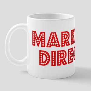 Retro Marketing D.. (Red) Mug