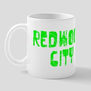 Redwood City Faded (Green) Mug