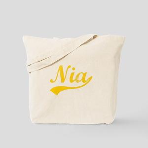 Vintage Nia (Orange) Tote Bag