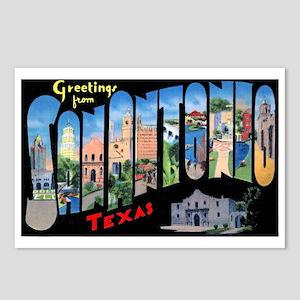 Vintage texas postcards cafepress san antonio texas greetings postcards package of m4hsunfo