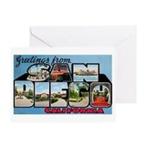 San diego Greeting Cards