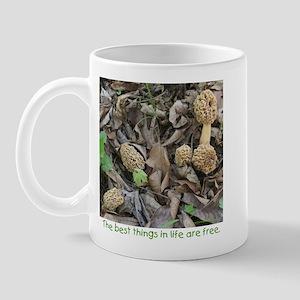 Morel Mushroom Mug